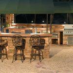 Summerset Custom Outdoor Kitchen Area