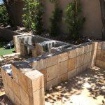 Existing Cinder Block Outdoor Kitchen Structure