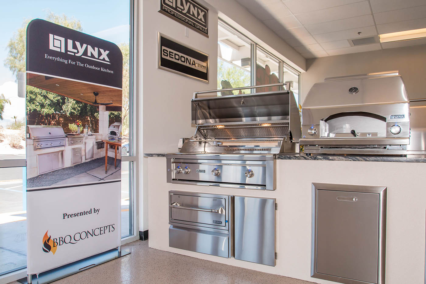Custom Lynx Professional Outdoor Kitchen Components By Bbq Concepts Of Las Vegas Nevada