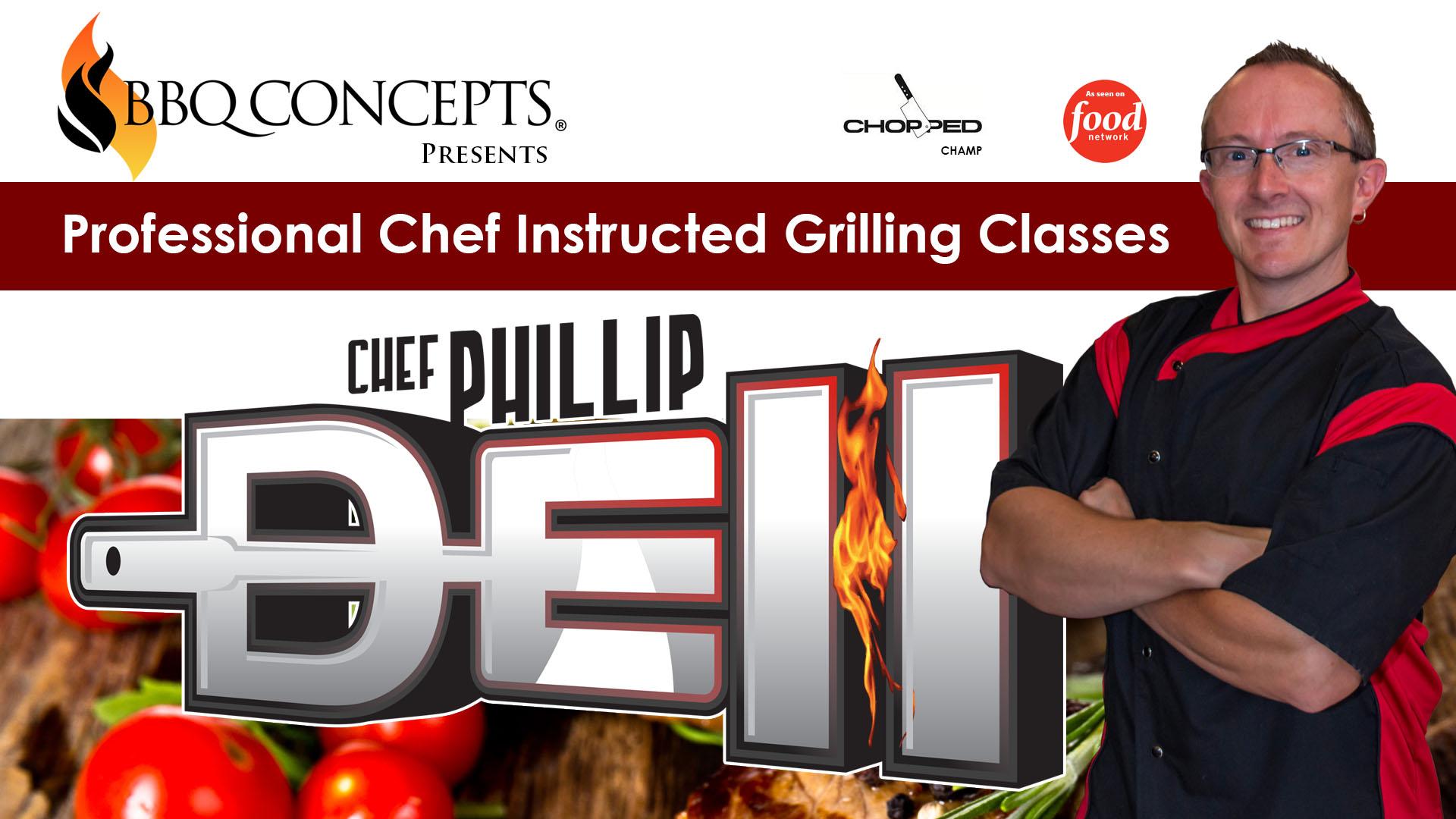 BBQ Concepts - Chef Dell Promo - Cooking Classes