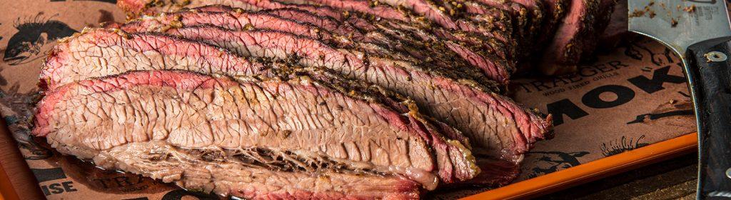 Traeger Recipe - Texas Style BBQ Brisket Scheiding Traeger Wood Pellet Grills