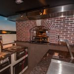Built-In Pizza Oven by Alfresco Open Air Culinary Systems