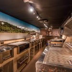 Interior - Alfresco Open Air Culinary System Trailer by the Almo Corporation