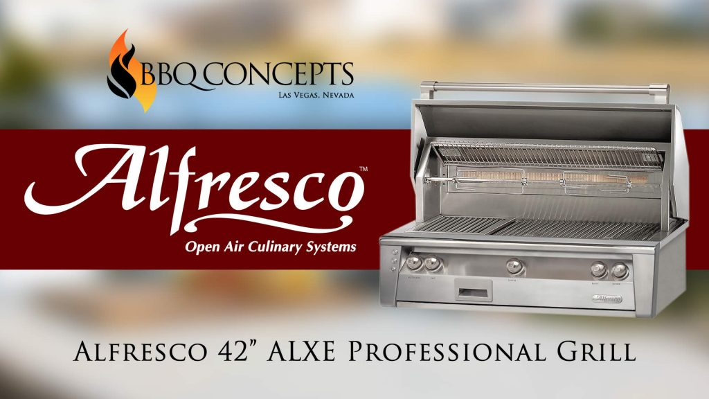 Alfresco 42 ALXE Barbecue Grill Review Video Advertisement
