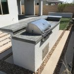 Custom Outdoor Kitchen for Pardee Model Home - Collaboration with Sunstate Companies