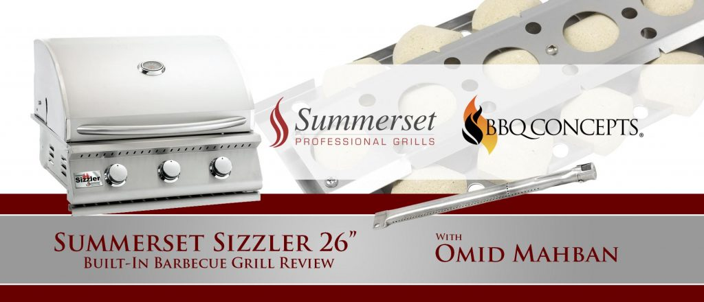 """Summerset Sizzler 26"""" Built-In Barbecue Grill Review"""