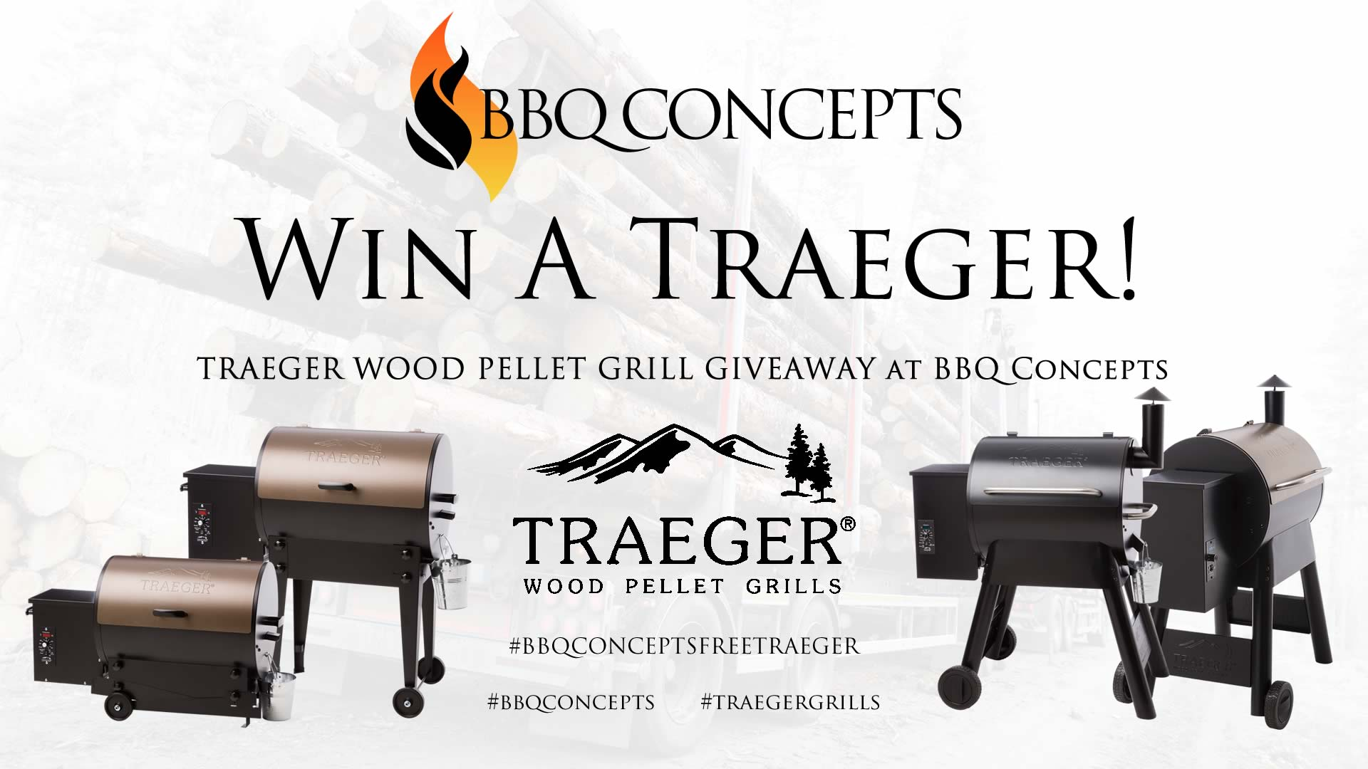 Traeger Day Giveaway Promotion Ad 1 - BBQ Concepts of Las Vegas, Nevada #BBQCONCEPTSFREETRAEGER
