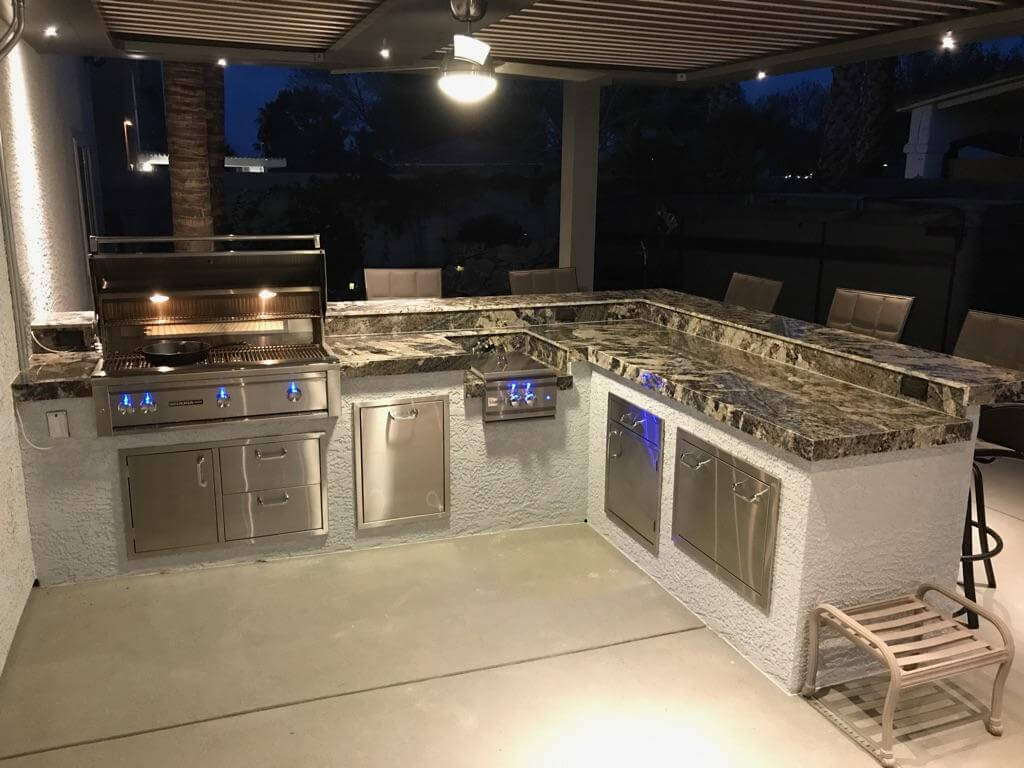 Outdoor Kitchen Enclosure by BBQ Concepts - Las Vegas, NV