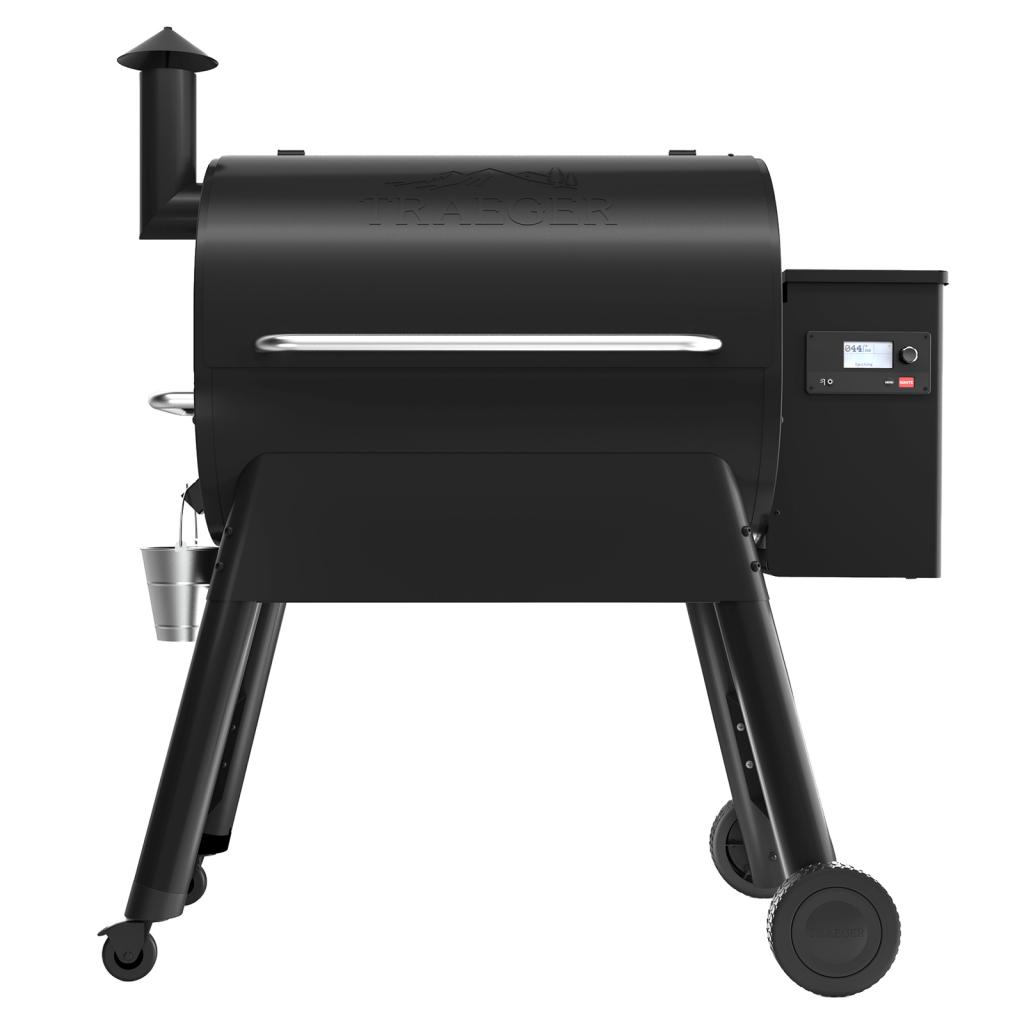 BBQ Concepts-Traeger P780 black - Front View