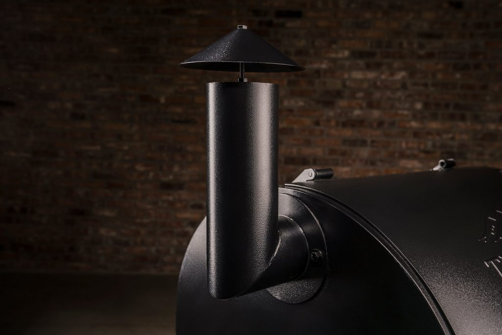 BBQ Concepts-Traeger Pro Smoke stack