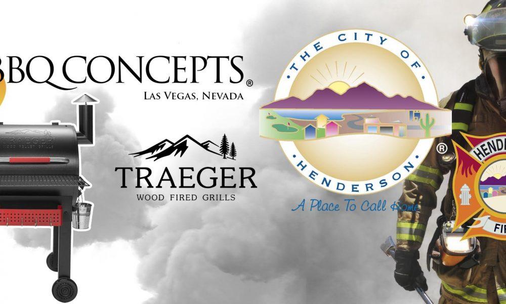 BBQ Concepts & Traeger Fire Fighter Appreciation Program