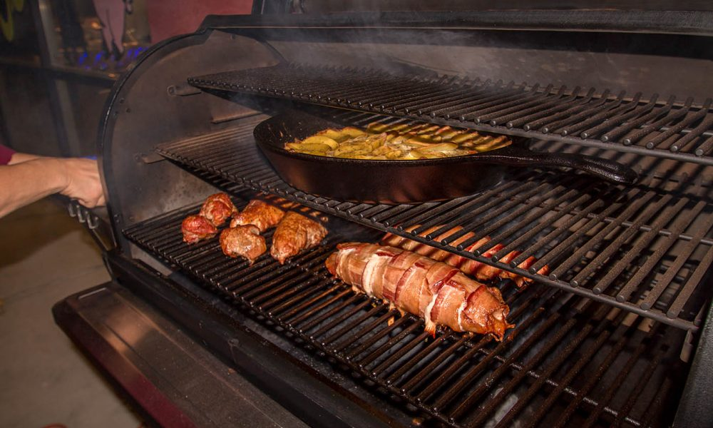 Holiday Cuisine Smoking at BBQ Concepts Ultimate Grilling Class with Chef Phillip Dell
