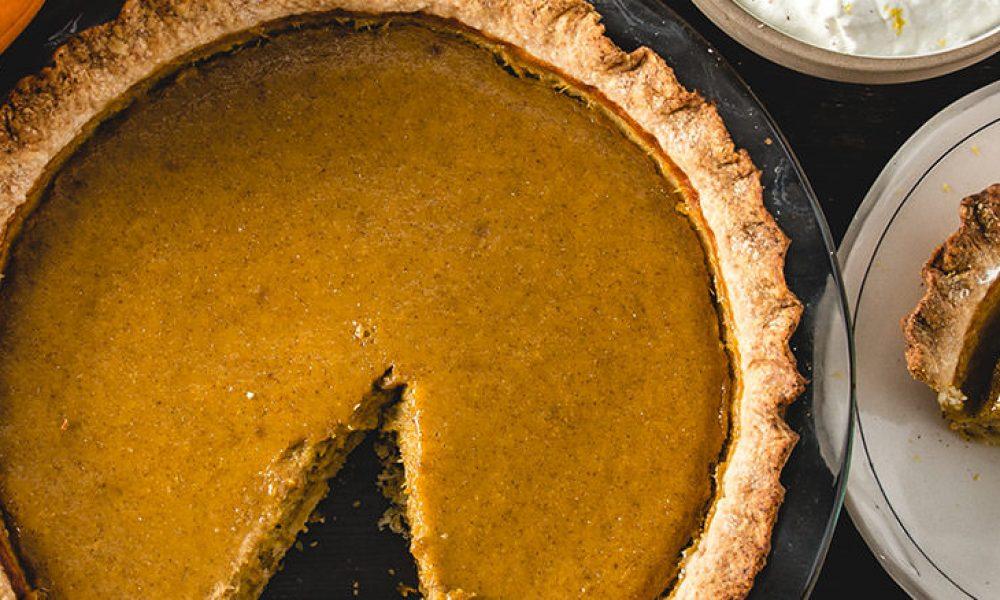 Traeger Recipe - From Scratch Pumpkin Pie Traeger Wood Pellet Grills