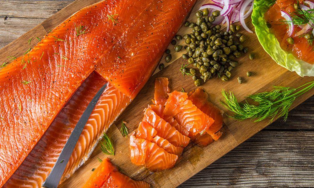 Traeger Recipes - Cold Smoked Salmon Gravlax Traeger Wood Pellet Grills