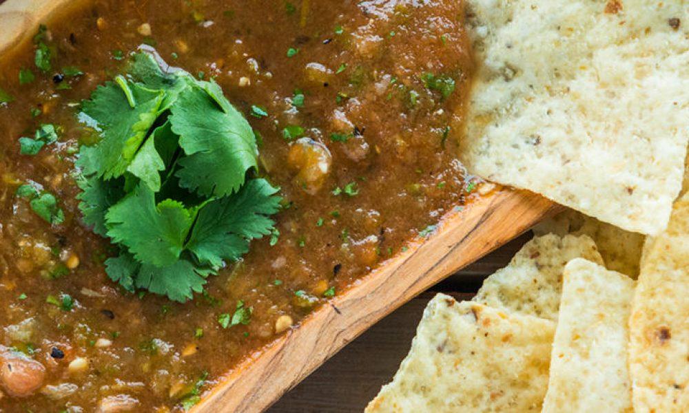 Traeger Recipes - Smoke Roasted Salsa