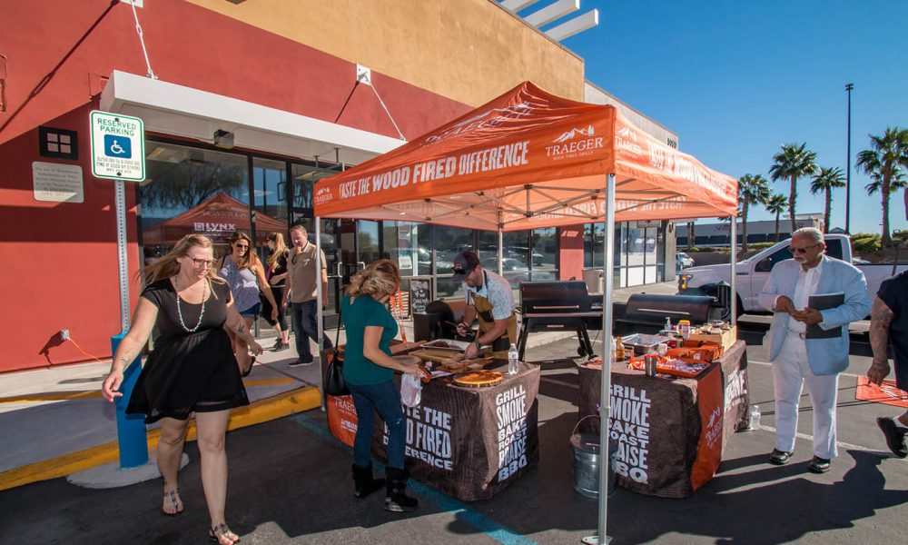Traeger Wood Pellet Grill Demonstration Day at BBQ Concepts of Las Vegas, Nevada